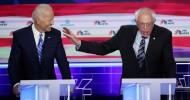 Biden in the hot-seat of a tense US Democratic debate