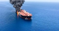 US releases video it claims shows Iran removing mine from tanker