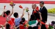 President Erdoğan meets with China's Xi in Beijing