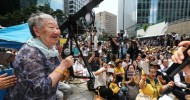 1400th weekly 'comfort women' rally draws thousands in Seoul By Lee Suh-yoon, Hong Seo-hyun