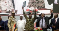 Sudanese factions sign historic accord on transitional governmentThe opposition and military council met at a ceremony on the Nile to sign 'constitutional declaration'