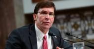 Pentagon Chief: US will prevent 'unacceptable' Turkish incursion in Syria