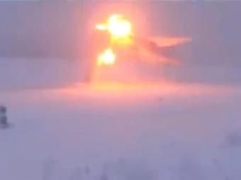 WATCH Russian supersonic Tu-22M3 bomber's terrifying crash-landing in near-zero visibility(Video)