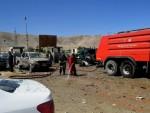 Blast kills dozens at Afghan president's election rally