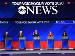 Frontrunners in third US Democratic debate spar over healthcare, yet stress importance of unity