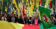 Thousands protest in Europe against Turkey's Syria offensive