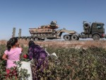 In Pictures: Turkey's military offensive in northeast Syria United Nations has said that more than 130,000 people have been displaced as a result of the fighting.