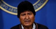 Bolivian President Morales announces his resignation