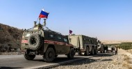 Russia sends more military police to Turkey-Syria border