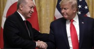 """Trump gives Turkish president a warm welcome despite lawmakers' dissent Declaring himself a """"big fan"""" of the autocratic Recep Tayyip Erdogan, Trump looks past the Syria invasion and the killing of Kurds."""