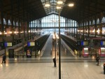 'Where is everyone?' Paris's Gare du Nord eerily empty as travellers avoid national strike
