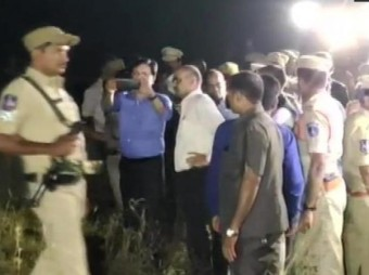 NHRC team visits Telangana encounter site, questions doctors on autopsy of accused The accused were arrested a day later and remanded to judicial custody on November 30. The police, who took them into custody for questioning on Wednesday, shot them dead in the early hours of Friday in an alleged encounter.