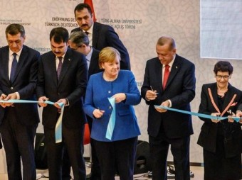 Erdoğan, Merkel open new Turkish-German University campus in Istanbul