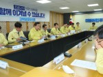 Presidential office, ruling party to speed up economic aid for COVID-19 Government to limit mask exports, tighten quarantine on Deagu, North Gyeongsang Province