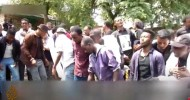 NEWS/AFRICA Tight security at Ethiopia singer's funeral after deadly protests Killing of Oromo singer and activist Haacaaluu Hundeessaa sparked two days of protests that left some 80 people dead.