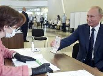 Russia referendum: Vladimir Putin on course to win vote that could see his rule extended to 2036