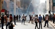 Police fire tear gas atLebanese protesting government in aftermath of Beirut explosion