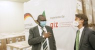 The Government of Germany donated COVID-19 protection equipment's CDC, Africa