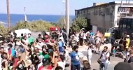 Over 2,000 Migrants Demand to Leave Lesvos as New Tents Arrive; US Pledges Support