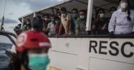 Dozens of migrants die after boat capsizes in Mediterranean Sea near Libya