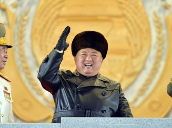 North Korea unveils new submarine-launched missile at parade