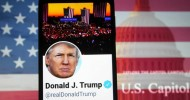 Twitter permanently suspends Trump's account 'due to the risk of further incitement of violence'