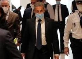 France's former president Nicolas Sarkozy sentenced to prison in corruption trial