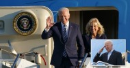 Joe Biden arrives in England ready for G7 summit and says 'the US is back