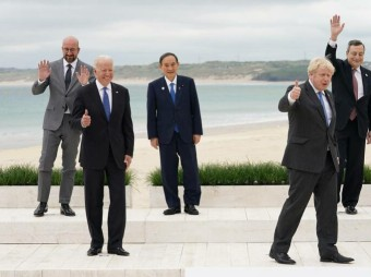 G7 calls for stable, predictable relations with Russia .Russia has been consistently refuting the West's statements that its actions are of destabilizing nature