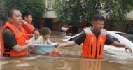 Death toll rises to 56 as breached river threatens Henan counties