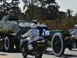 Algeria pays homage to ex-president Abdelaziz Bouteflika with low-key funeral