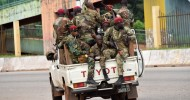 Guinea in turmoil as soldiers claim they have taken over Defence ministry says an attack on the presidential palace by mutinous forces has been put down.