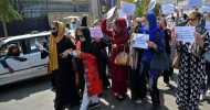Afghan women's protest abruptly ended by Taliban special forces