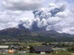 Japan:Mt. Aso erupts, Level 3 volcanic alert issued